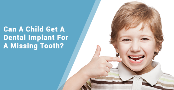 Dental Implant For Childrens Missing Tooth