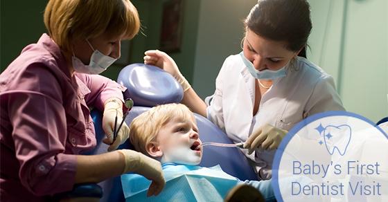 Baby's First Dentist Visit