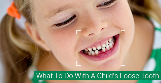 What To Do With A Child's Loose Tooth.